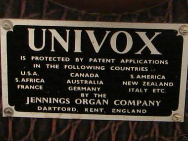 Univox_j10_label